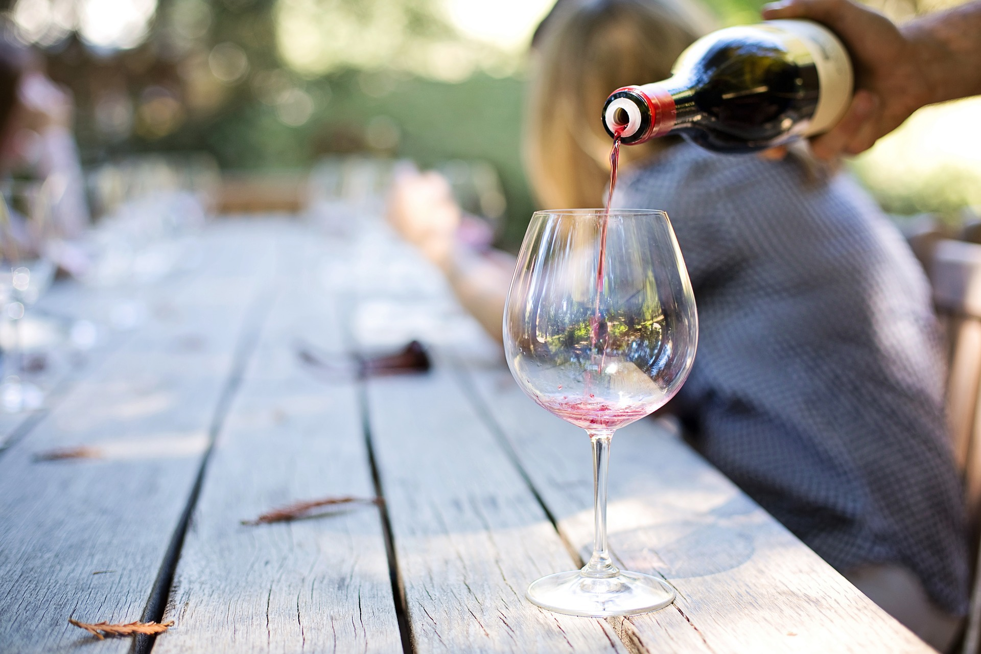 1 glas wijn calorieen