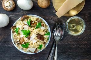 Welke wijn gebruik en drink je bij risotto?